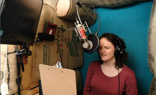 Fawn Alleyn narrating the Startup audiobook